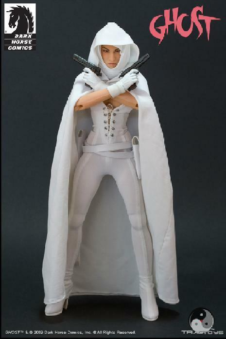 1/6 Triad Toys Dark Horse Comics Elisa Cameron as GHOST - Action Figure MIB