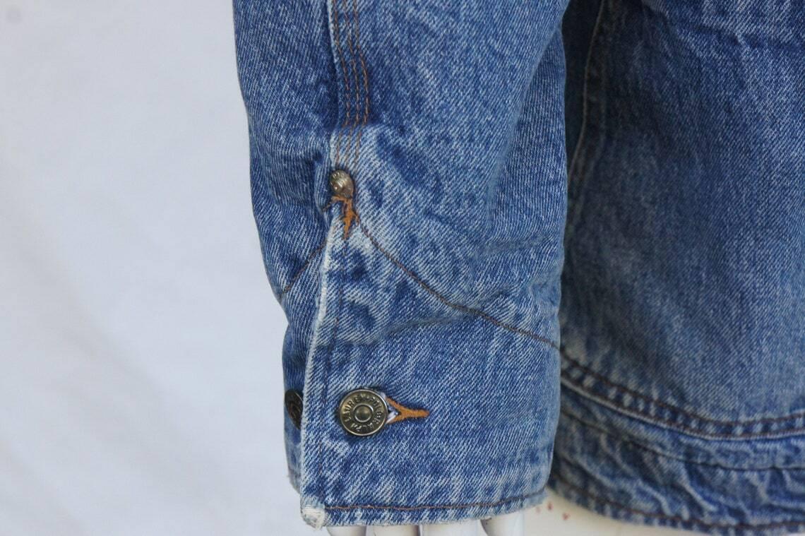 Vintage 80s Men's Ralph Lauren Polo Jean Jacket - image 2