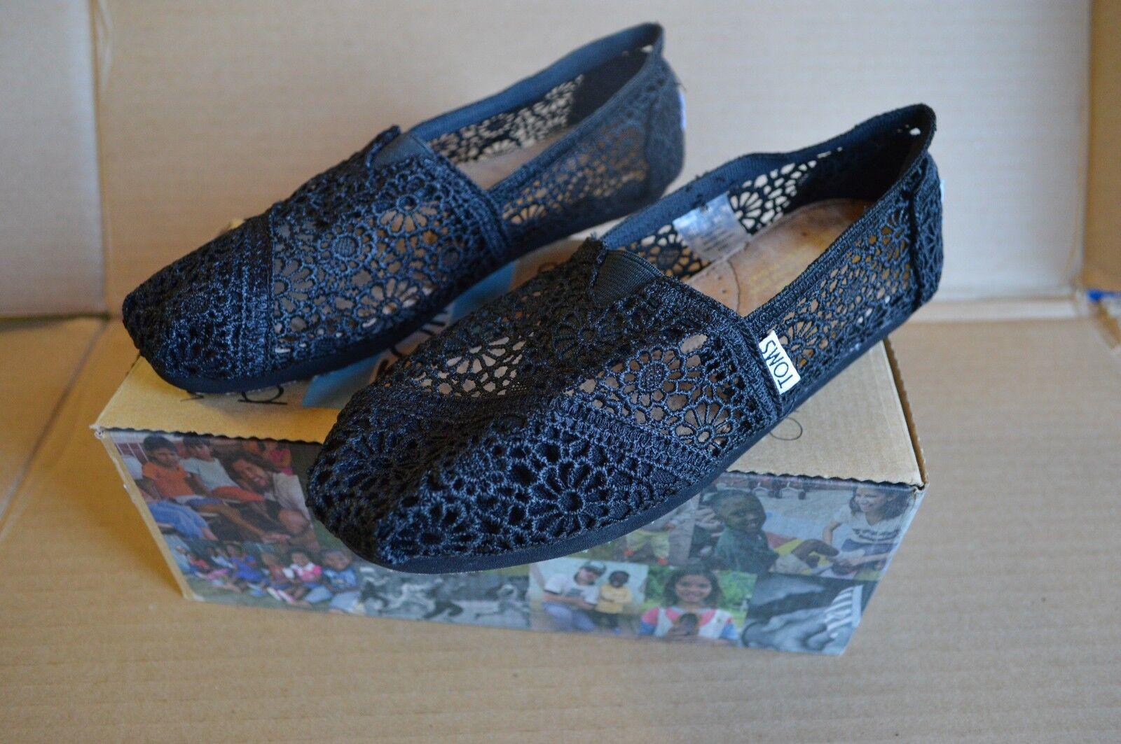 Classics Black Morocco Crochet Flats