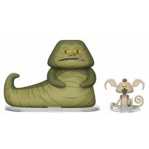 Funko-Vynl-Star-Wars-Jabba-the-Hut-amp-Salacious-Crumb-Vinyl-Figures-New
