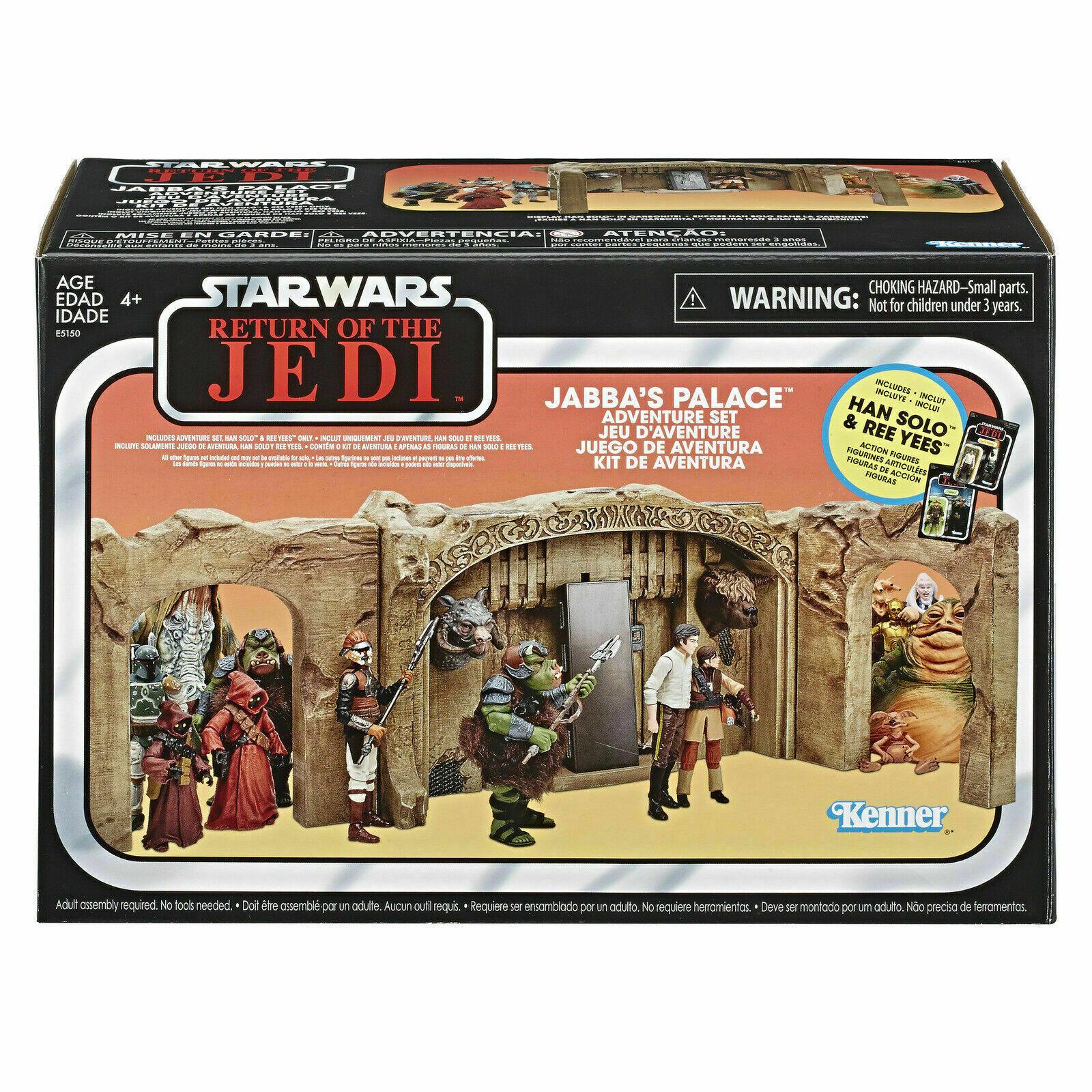 HASBRO estrella guerras Vintage Collection Jabba's Palace han solo  ADVENTURE PLAYSET  promozioni di squadra