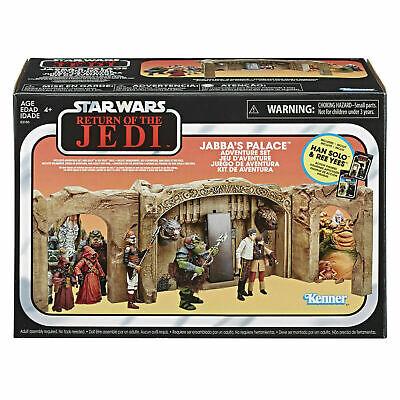 100% QualitäT Hasbro Star Wars Vintage Collection Jabba's Palace Han Solo Adventure Playset äRger LöSchen Und Durst LöSchen