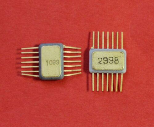 133TM2 = SN5474  IC Microchip USSR  Lot of 2 pcs