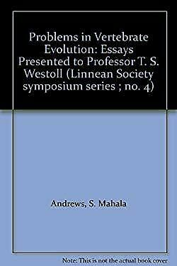 Problems in Vertebrate Evolution by Westoll, T. Stanley