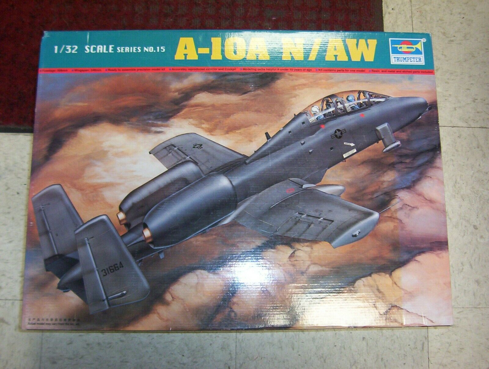 Trumpeter A 10a N Aw Thunderbolt Ii Model Scale 1 32 St For Sale Online