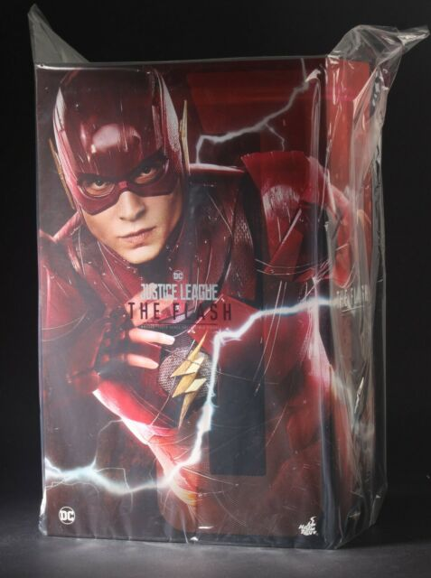 Hot Toys MMS448 Liga de la Justicia el Flash 1/6 Figura en Stock
