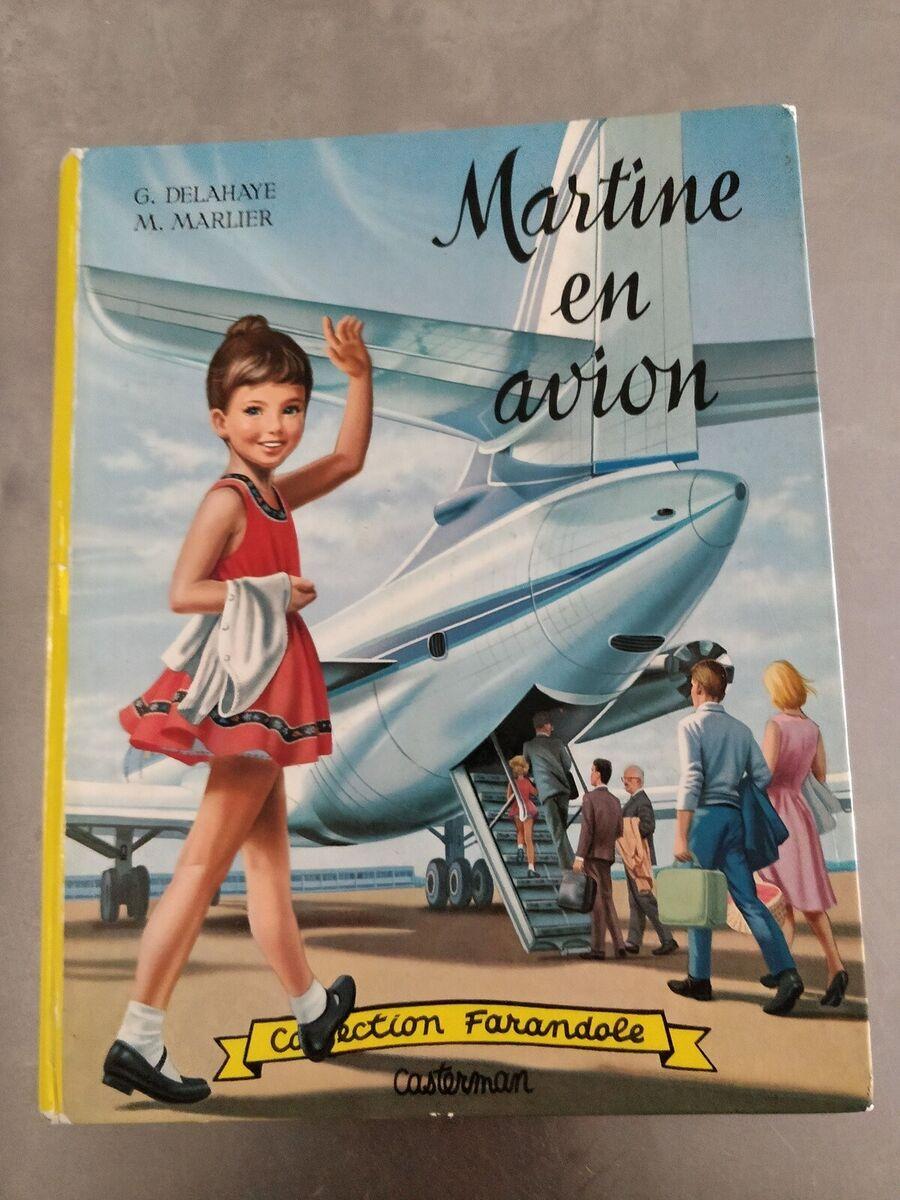 MARTINE: EN AVION (FRENCH EDITION) By Marcel Marlier