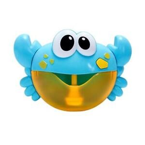 2fe42cfb5 Image is loading Crab-Frog-Bubble-Maker-Automated-Spout-Bubble-Machine-