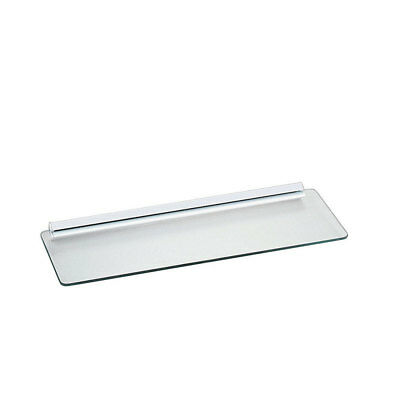 Knape /& Vogt Wall Shelves Kit Mounted White Glass Decorative Tempered Glass New