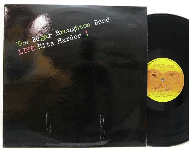 Edgar Broughton Band        Live  Hits  Harder        Swiss         NM   # W