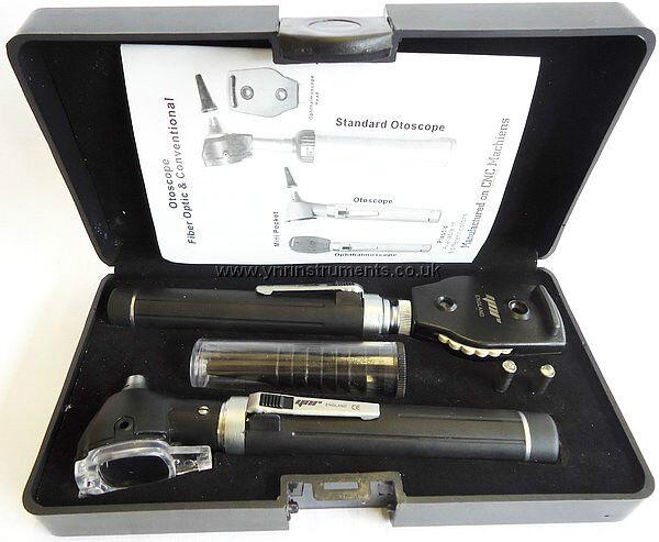 Otoscopio Oftalmoscopio F.O Mini Led Para DiagnóStico MéDico
