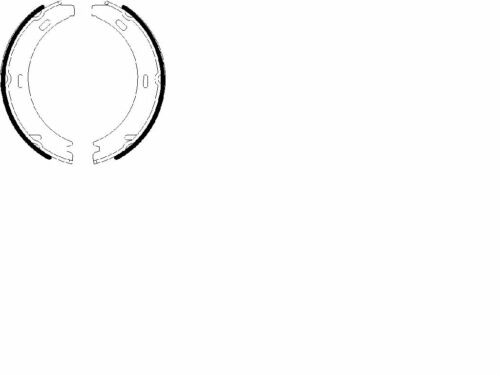 Feststellbremse Bremsbacken für Mercedes Benz MB C123 C126 W126 SL R107 Kombi