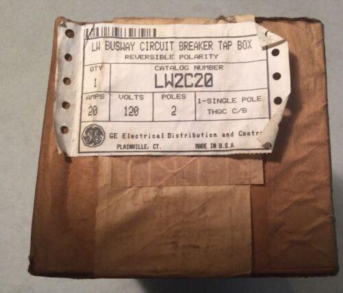 GE General Electric LW2C20 LW Circuit Breaker Tap Box New In Box