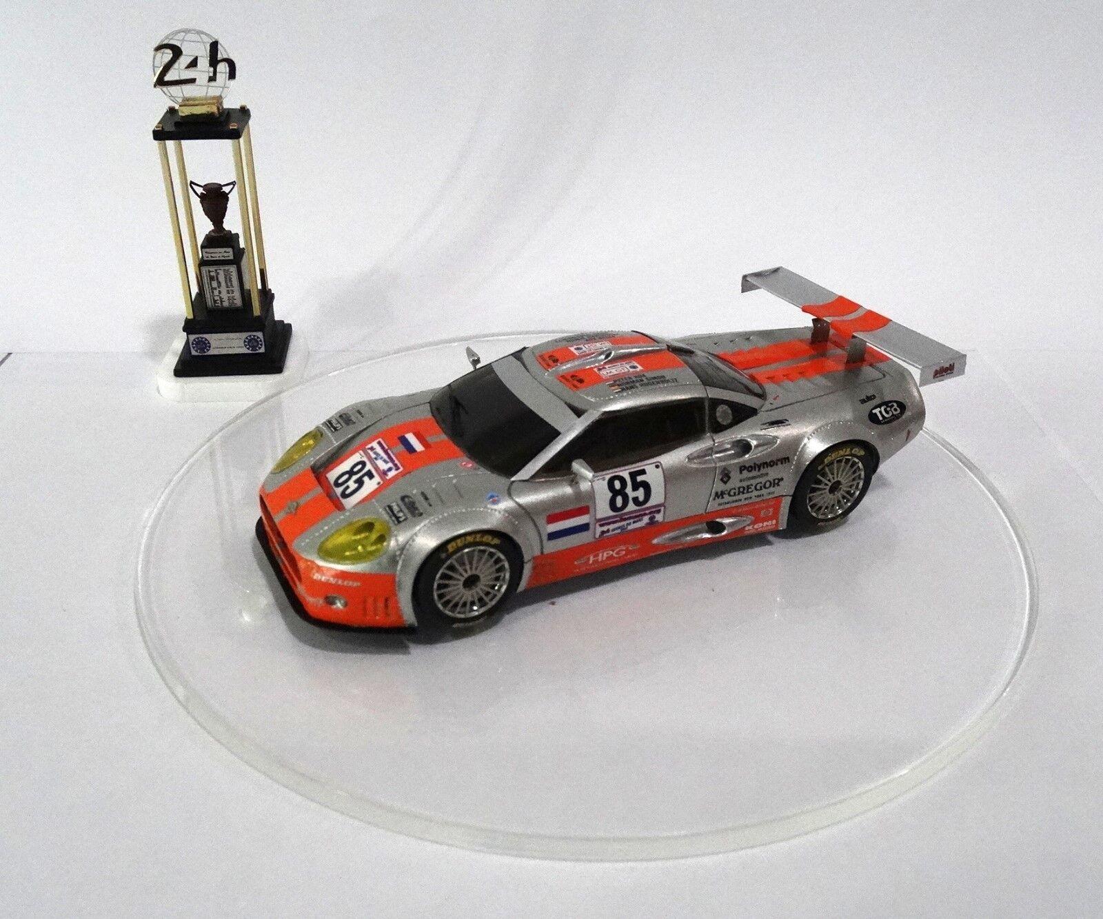 SPYKER C8 DOUBLE 12  8 24H Le Mans 2002 Built Monté Kit 1/43 no spark minichamps