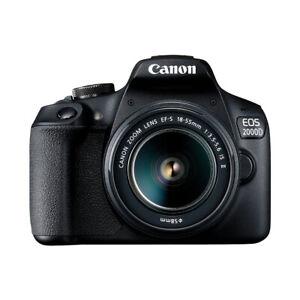 Canon-EOS-2000D-EF-S-18-55mm-IS-II-Fotocamera-Reflex-Nero-24-1Mpx