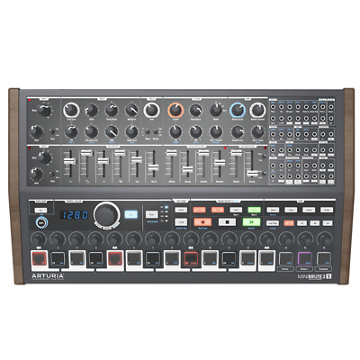 arturia minibrute 2s semi modular analogue sequencer synth module with patch bay 3760033531175. Black Bedroom Furniture Sets. Home Design Ideas