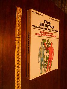 LIBRO:  TAO SHIATSU TERAPIA DEL XXI SECOLO - RYOKYU ENDO