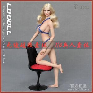 LDDOLL1//6Silicone Seamless Figure Female small  Breast Anime Body Blyth25S