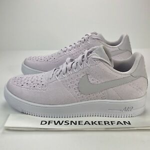 76aa39d765e8 Nike Air Force 1 Ultra Flyknit Low Mens Size 10 Light Violet White ...