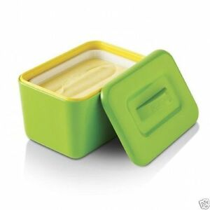 Zeal-Insulated-Melamine-Butter-Dish-Green-Red-White
