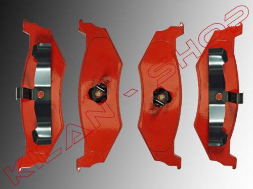 Bremsklötze Bremsbeläge hinten Chrysler Pt Cruiser 2000-2010