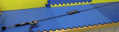 Lew's Laser Lite Speed Spin Spinning 6/' Rod IM6 Graphite Combo LLS7560L-1