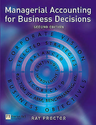 Managerial Accounting for Business Decisions by , Good Book (Paperback) Fast & F