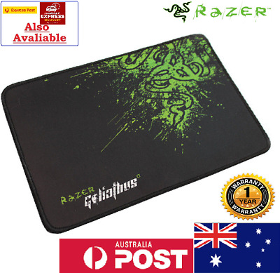 Details about  Razer Gaming Mouse Pad Optical Laser Mouse Mat Mice Soft Laptop PC Green Aus