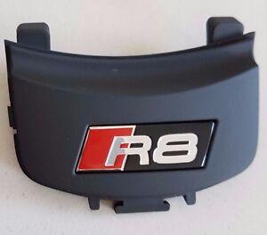 Audi-R8-original-Lenkradclip-Logo-Clip-Schriftzug-Emblem-Lenkrad-V8-GT-V10-Plus