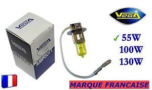 Ampoule-Jaune-ancien-Marque-Francaise-VEGA-H3-55W-Auto-Moto-12V