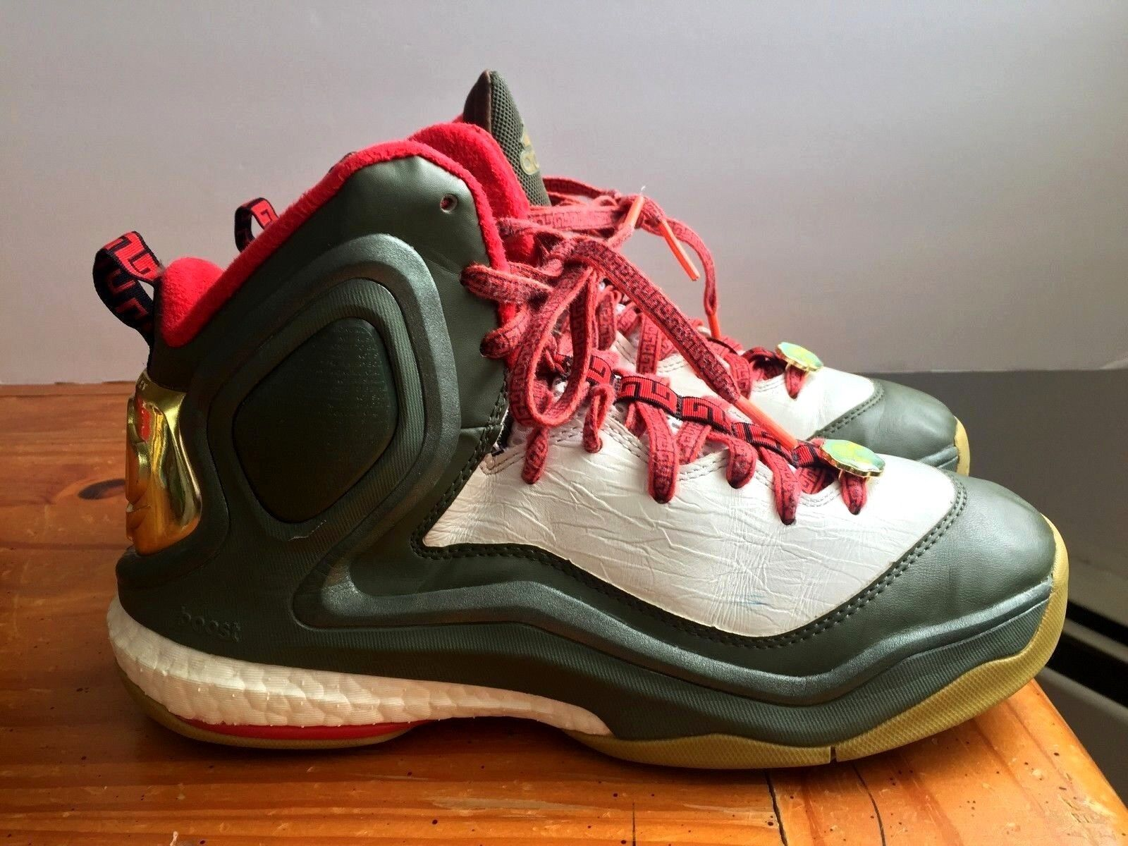 Adidas Derrick Rose 5 Boost Basketball Shoes Year of the Goat Comfortable Comfortable and good-looking