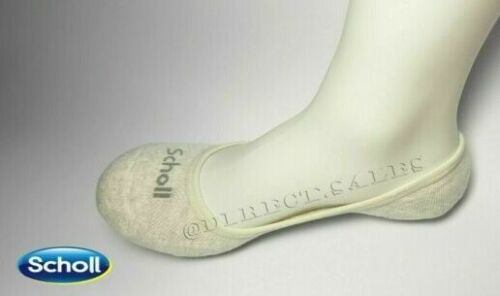 Scholl Womens Mens Invisible Socks Cushioned Trainer Sport Socks Shoe Liner lot