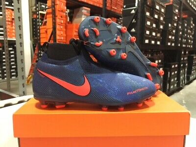 Nike Junior Phantom Vision Elite DF FGMG Cleats (BlueBlack) Size: 4 6 Y NEW! | eBay