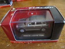 Yat Ming Die Cast Porsche Cayenne Turbo 1:72 Silver - New in Box!