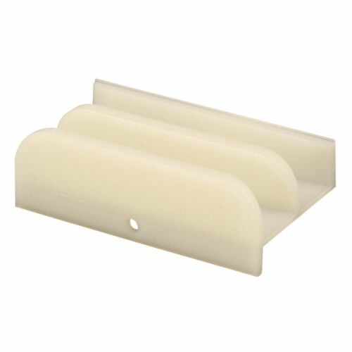 x 3 in. Prime-Line Products M 6219 Sliding Shower Door Bottom Guide 1//2 in
