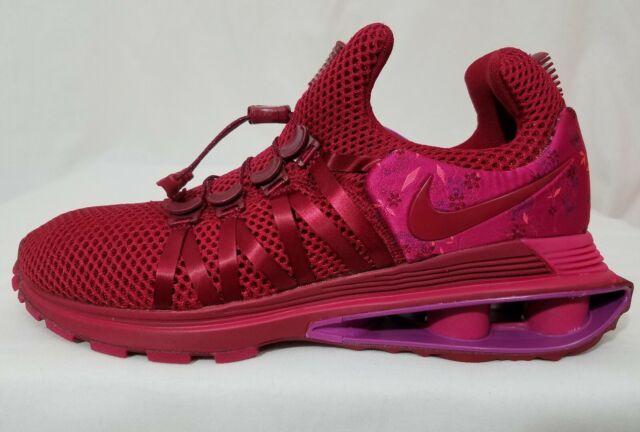 best authentic 1186d b2209 Nike Shox Gravity Womens Aq8554-606 Red Crush Wild Cherry Running Shoes  Size 9.5