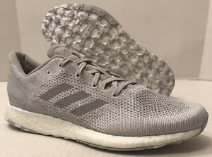79af6e1f1bfef ADIDAS PUREBOOST DPR PK RUNNING SHOES S80734 Grey   White (MEN S ...