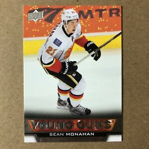 2013-14-Upper-Deck-Young-Guns-SEAN-MONAHAN-Calgary-Flames-242-ROOKIE