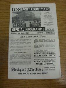 05-04-1947-Stockport-County-v-Gateshead-Division-3-North-folded-Any-faults