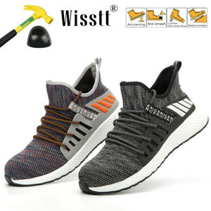 Men-039-s-Steel-Toe-Casual-Sports-Sneakers-Breathable-Outdoor-Walking-Athletic-Shoes