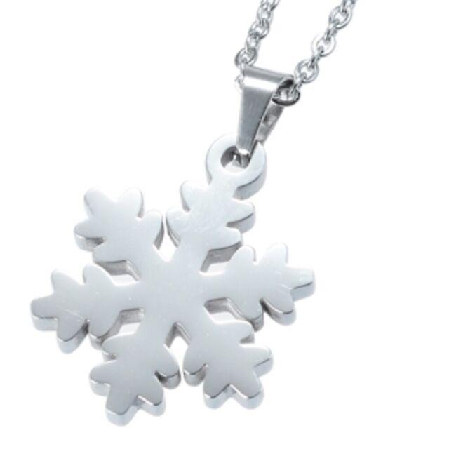 Energetix 4you 1056 Necklace Pendant Ice Crystal Snowflake Vitality Magnetix