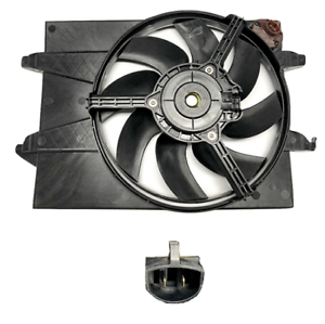 Radiator-Fan-With-Resistor-For-Ford-Fiesta-Wp-Wq-2004-2008