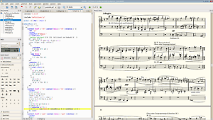 Frescobaldi (LilyPond Sheet Music Text Editor Software