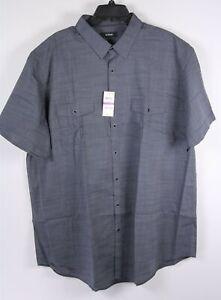 New-Alfani-SS-Shirt-2XLT-Gray-Grey-Pockets-Mens