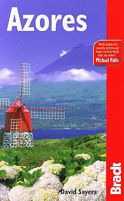Azores David Sayers Bradt Paperback travel guide book 2006 Pico Faial Terceira