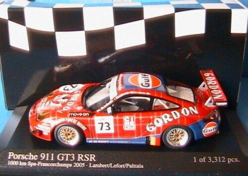 PORSCHE 911 GT3 RSR 1000 KM SPA 2005 GORDON TEAM 1 43