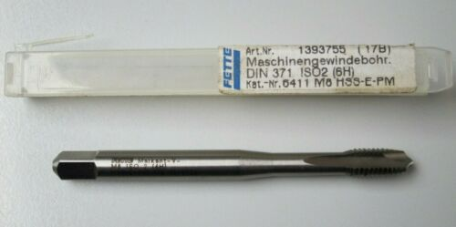 Fat Machine Tap M 8*90 HSS-E-PM 6HX ISO 2