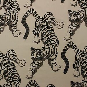 Leopard Print Fabric p kaufmann le tigre natural tiger leopard animal print fabric