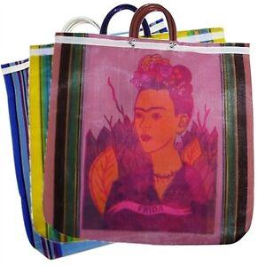 Image Is Loading 940 Dozen Lot Tote Ping Bag Frida Kahlo