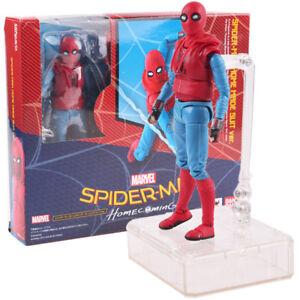Shfiguarts-Spider-Man-Heimkehr-hausgemachten-Suit-Version-Action-Figur-Modell-Spielzeug